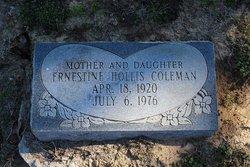 Ernestine <I>Hollis</I> Colman