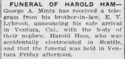 Harold A Ham
