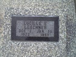 Lucille Elizabeth <I>Morton</I> Leochner