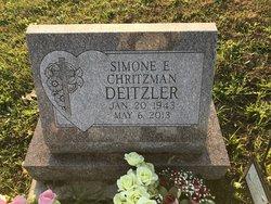 Simone E <I>Beach</I> Deitzler