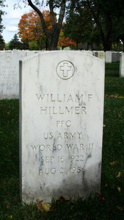 William F Hillmer