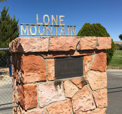 Lone Mountain Cemetery