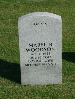 Eula Mabel <I>Bradley</I> Woodson