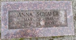 Anna <I>Bollenbeck</I> Schafer