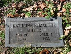 Katherine Elizabeth <I>Acuff</I> Miller