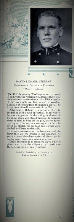 CDR David Richard Stephan