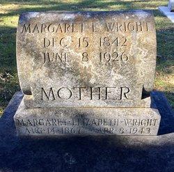 Margaret Elizabeth <I>Blackburn</I> Wright