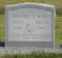 Christine L. Wyatt