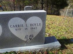 Carrie Lee <I>Yelton</I> Hoyle