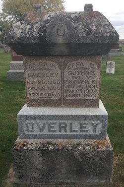 Effa O <I>Guthrie</I> Overley