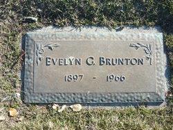 Evelyn Gertrude <I>Whitney</I> Brunton