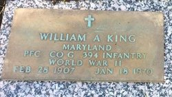 William A. King