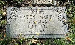 Marion Marnie Wiseman