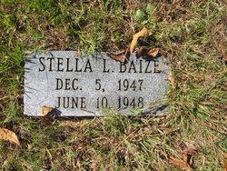 Stella L Baize