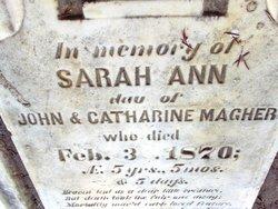 Sarah Ann Magher