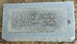 Mary Stradtman <I>Nieter</I> Boss