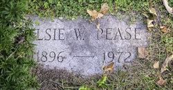 Elsie May <I>White</I> Pease