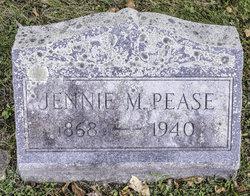 Jennie M. Pease