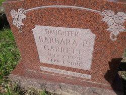 Barbara P. Garrett