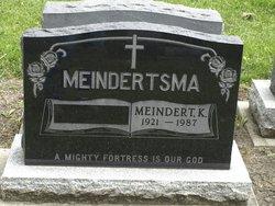 Meindert K. Meindertsma