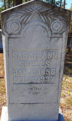 Sarah Ann Spells