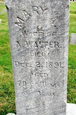 Mary Ann <I>Jones</I> Walter