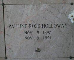 Pauline Rose <I>Bates</I> Holloway