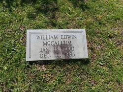 William Edwin McCallum
