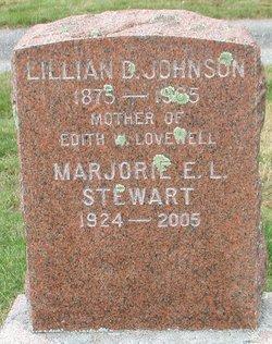 Lillian Darling <I>Thayer</I> Johnson