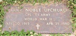 Harry Noble Upchurch