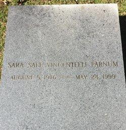 Sara Sale <I>Vincentelli</I> Parnum