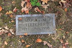 Marian M Fletcher