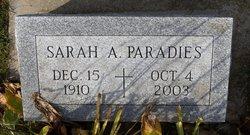 Sarah Ann <I>Neal</I> Paradies