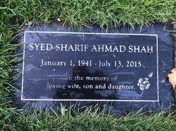 Syed Sharif Ahmad Shah