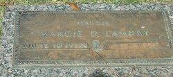 "Margie Frances ""Maggie"" <I>Deena</I> Landry"
