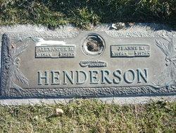 Jeanne K Henderson