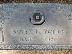 Mary Lena <I>Riley</I> Yates