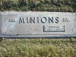 Bertha <I>Pottinger</I> Minions