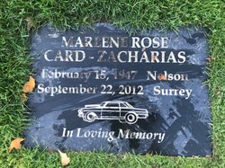 Marlene Rose Card-Zacharias
