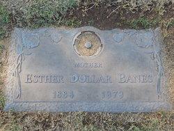 Esther Eva <I>Hightower</I> Banes