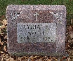 Lydia E Wolff