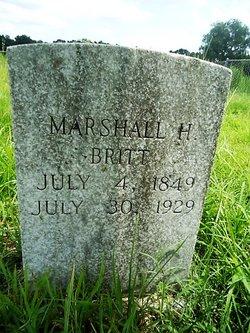 Marshall H Britt
