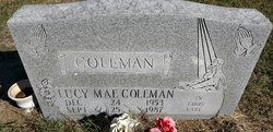 Lucy Mae Coleman
