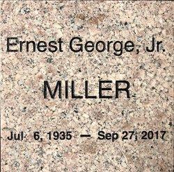 Ernest George Miller, Jr