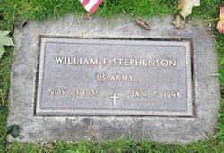 William F Stephenson