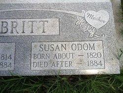 Susan Ida <I>Odom</I> Britt