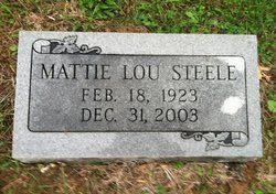 Mattie Lou Steele