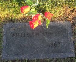 William H Wohler