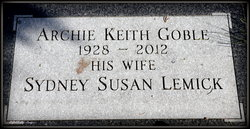 Archie Keith Goble