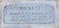 Rachel Louise <I>Braly</I> Crockett